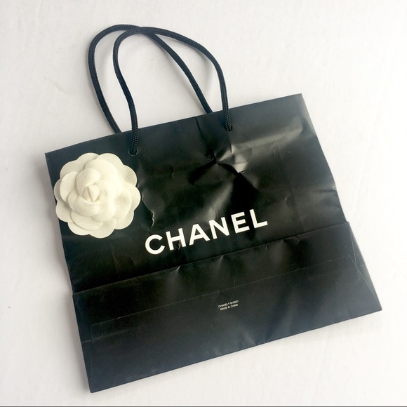 6a6131351b3f CHANEL Other | Gift Bag With Flower Detail | Poshmark